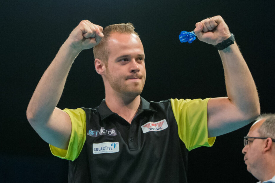 Darts-Profi Max Hopp.