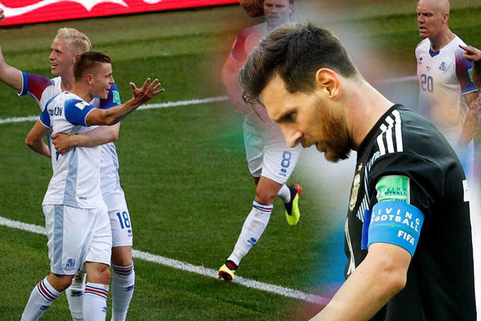 Messi vergibt Elfmeter: Island schockt WM-Favorit Argentinien!