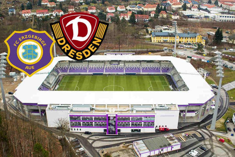 Sachsenderby Aue gegen Dynamo: Einschränkungen für Fans zu erwarten!