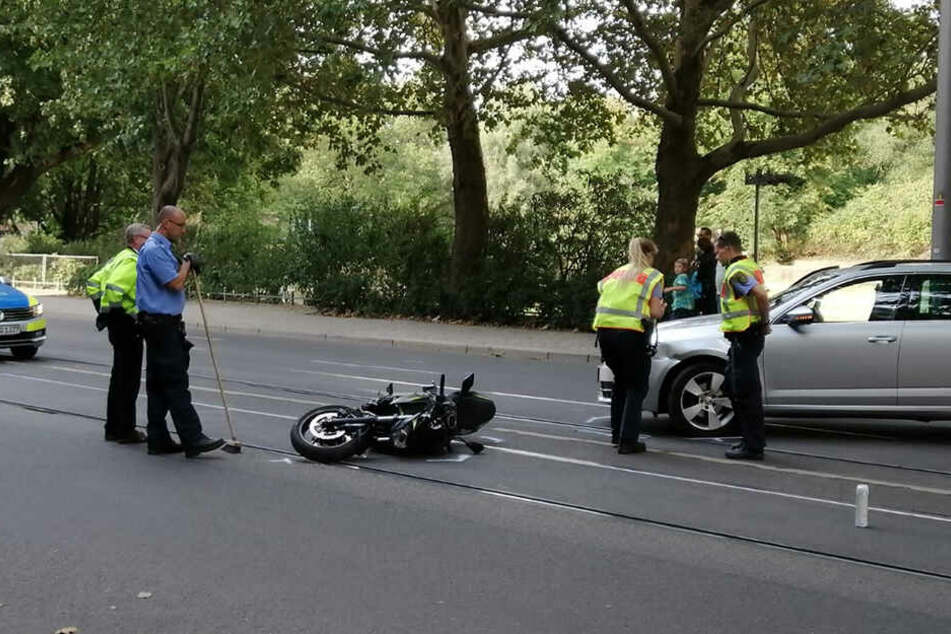 Verletzt wurde zum Glück niemand.