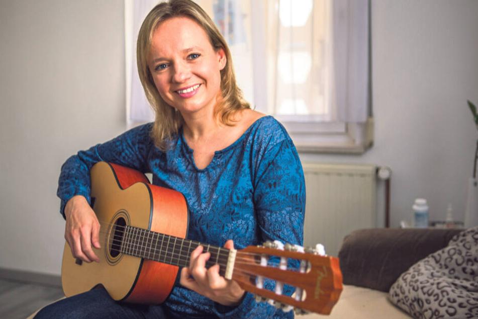 Für Sabine Stapf (37) ist die Musik Hobby und Beruf zugleich.