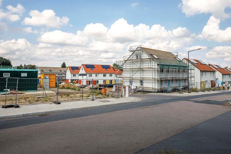An der Gompitzer Straße darf bereits gebaut werden.