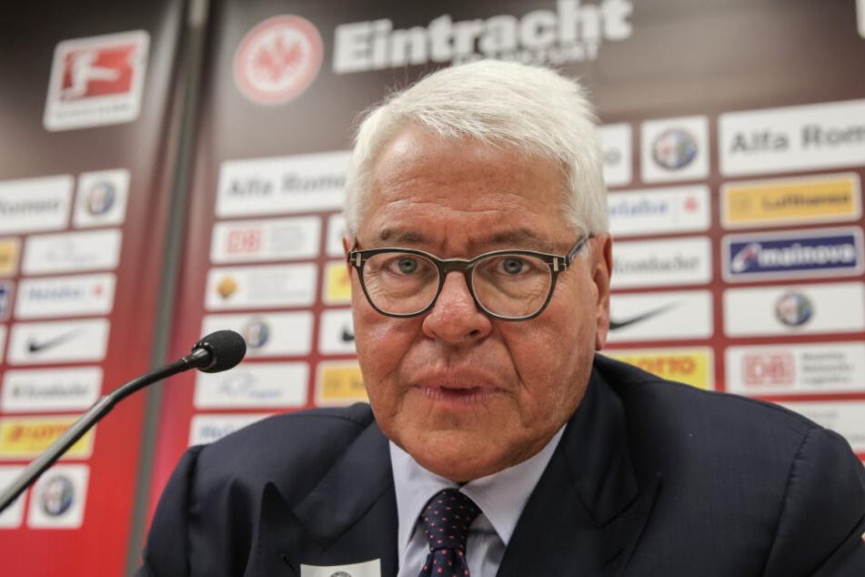 Der Aufsichtsratschef der Frankfurter Eintracht, Wolfgang Steubing.
