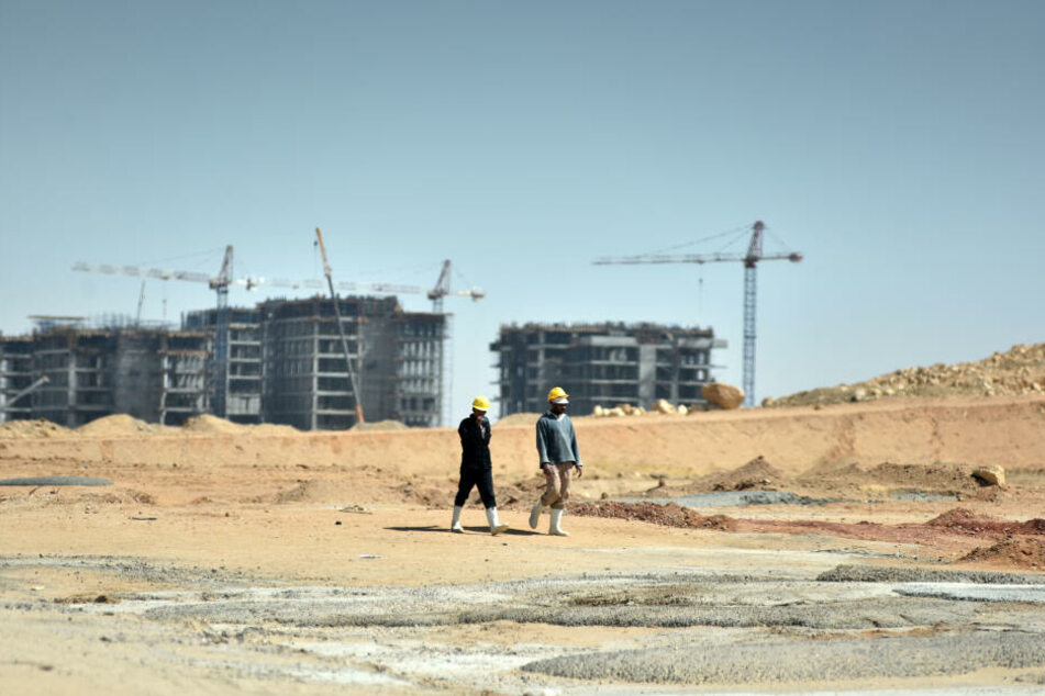 Mammut-Projekt und Mega-Baustelle: Capital Cairo entsteht auf einer Fläche von 700 Quadratkilometern, soll über 45 Milliarden Dollar kosten und für bis zu sieben Millionen Bewohner angelegt werden.