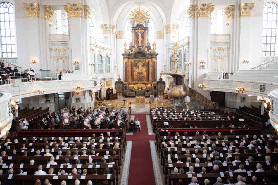 Die Trauerfeier für Jan Fedder findet am 14. Januar in der Kirche Sankt Michaelis (Michel) in Hamburg statt.