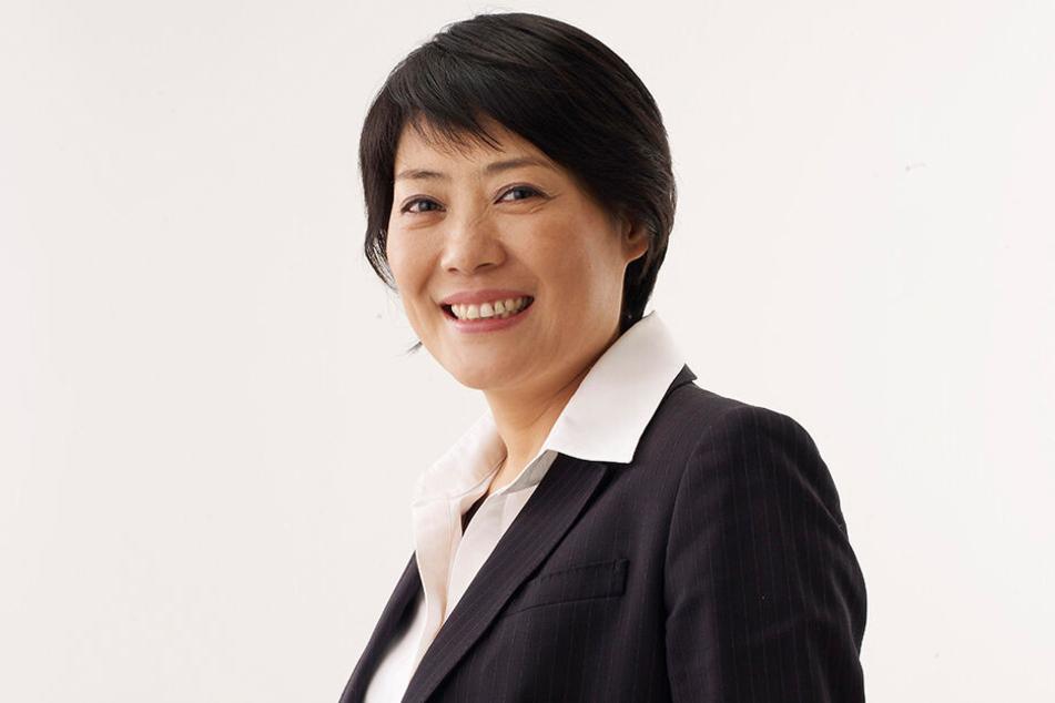 Weitere Preisträgerin: die chinesische Frauenrechtlerin Guo Jianmei.