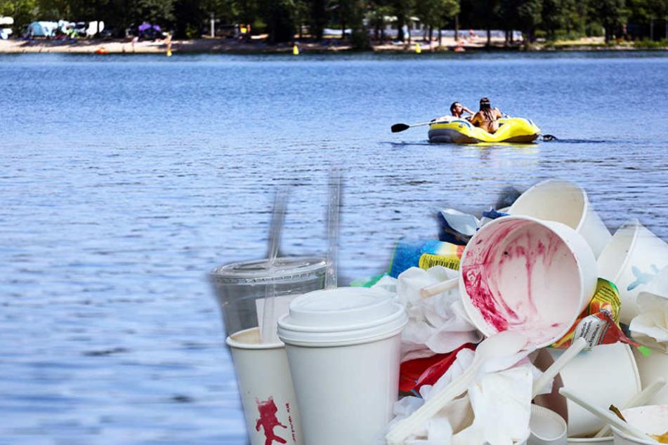 Versinkt dieses Leipziger Bade-Paradies bald im Müll?
