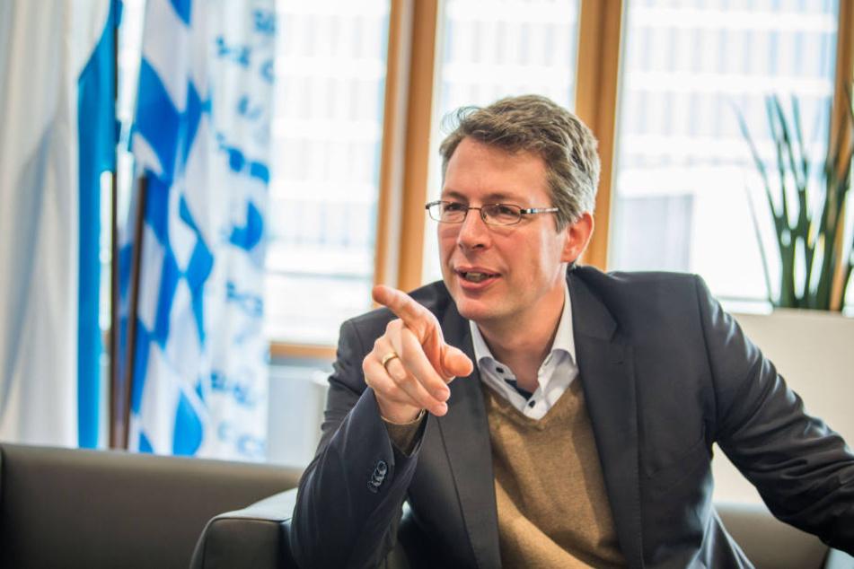 Markus Blume (CSU, Generalsekretär).