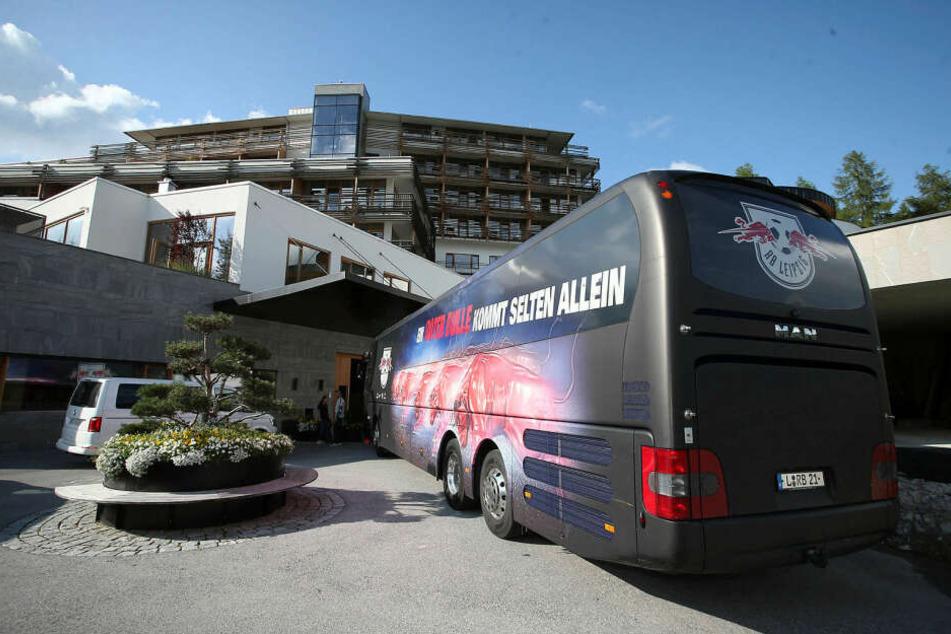 Die Mannschaft ist am Sonntagnachmittag in Tirol angekommen.
