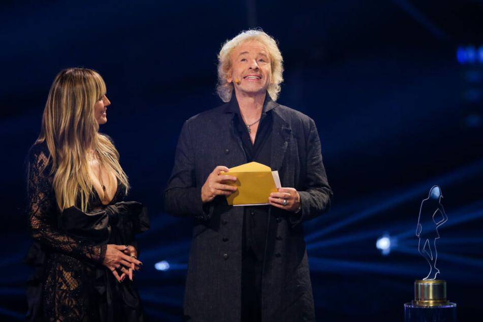 Heidi Klum und Thomas Gottschalk.