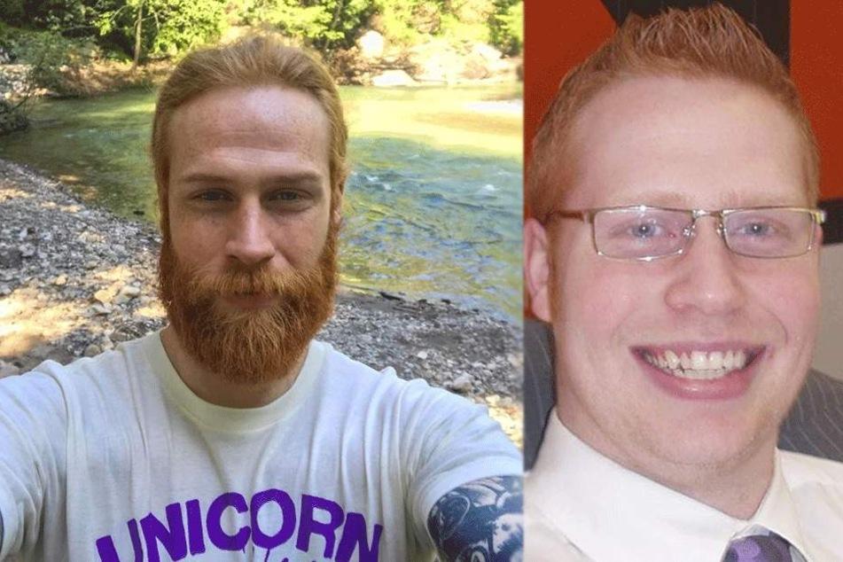 Man muss ganz genau hinschauen: Beide Fotos zeigen denselben Mann!