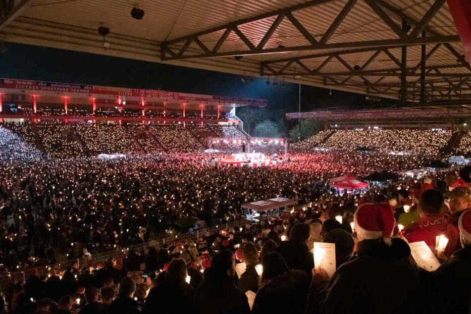 Beim Weihnachtssingen 2018 kamen über 28.000 Besucher nach Köpenick.