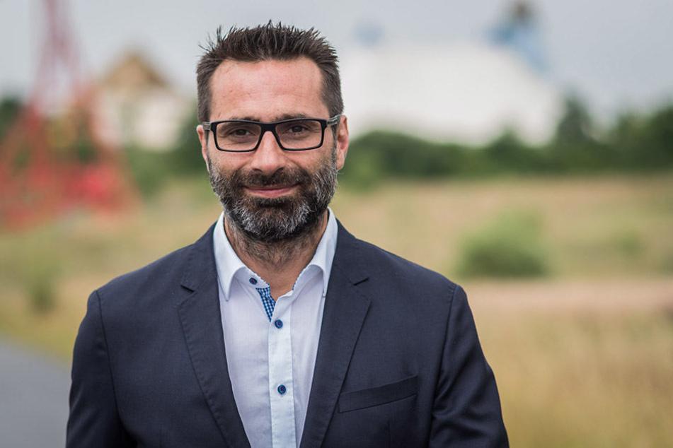 Bazil El Atassi (44) ist der neue Geschäftsführer des Freizeitparks BELANTIS.