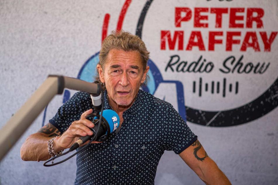 Radio R.SA schmeißt ein Konzert mit Peter Maffay (70), der jetzt auch seine eigene Show bei dem Sender hat.