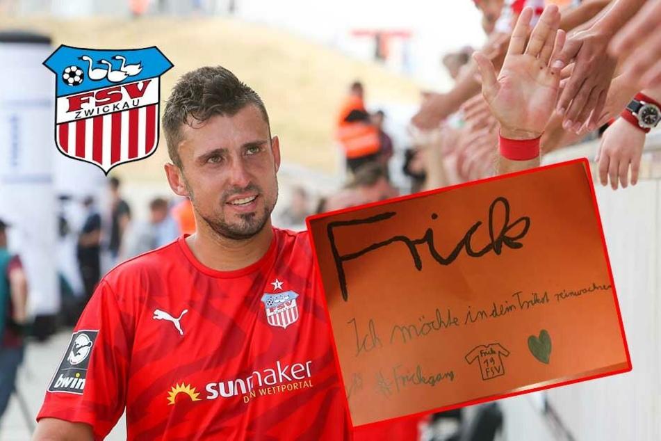 Junger FSV-Fan hat besonderen Wunsch an Davy Frick!