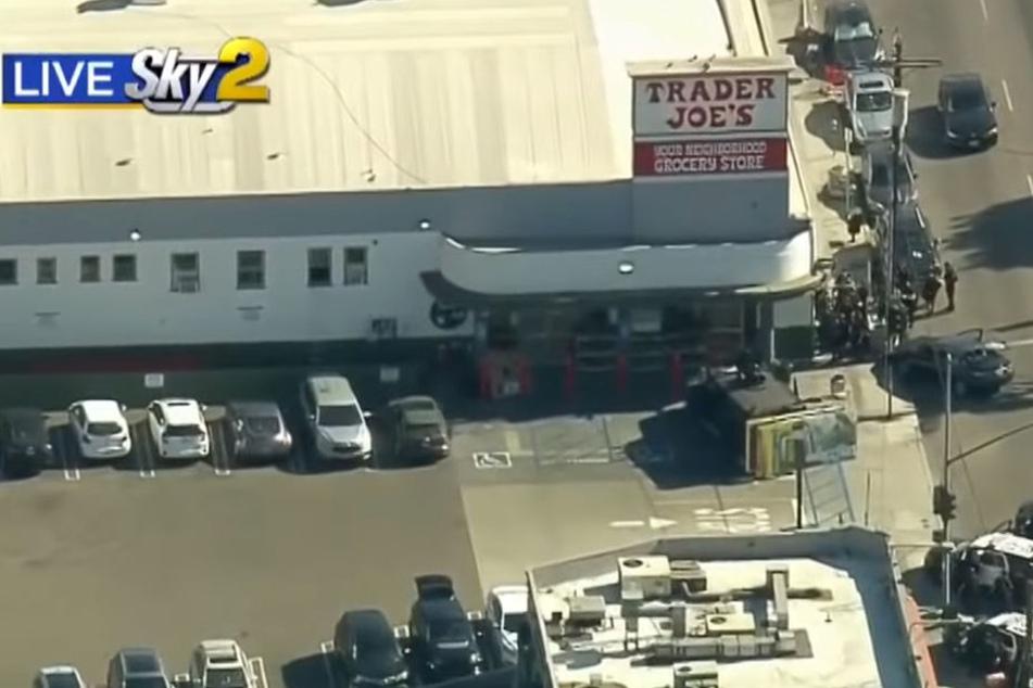 In diesem US-Supermarkt in Los Angeles nahm ein bewaffneter Mann Geiseln.