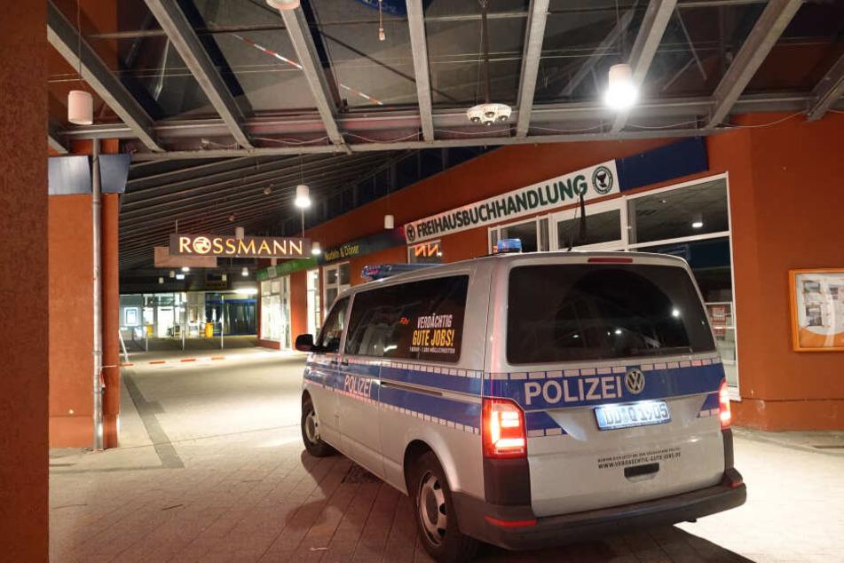 Im Gablenz Center haben Täter versucht eine Geldautomat zu sprengen. (Archivbild)