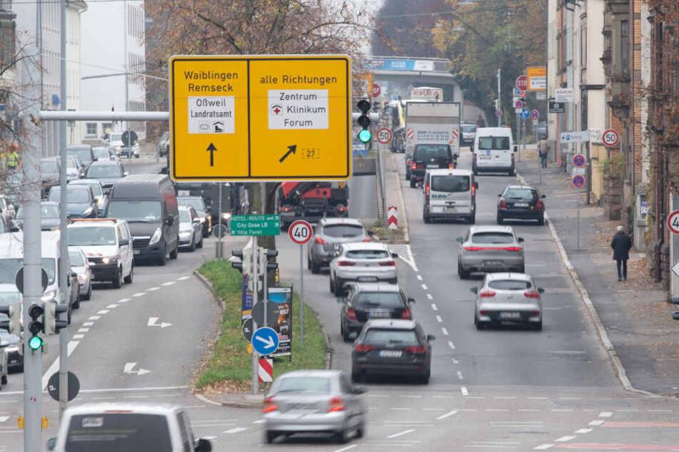 Schlechte Luft: Kommen in Ludwigsburg auch Diesel-Fahrverbote?
