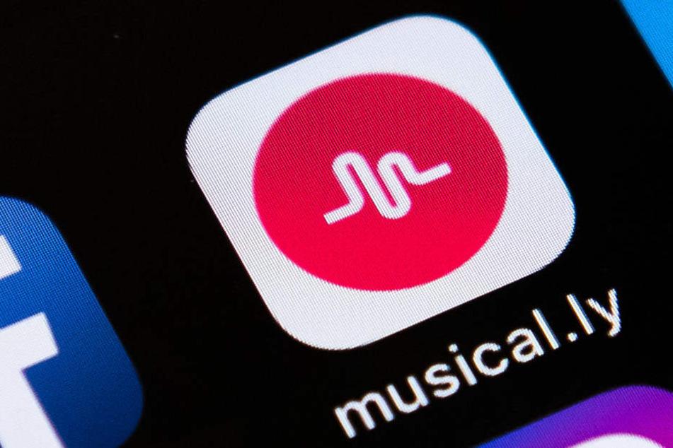 Auf der Video-App Musical.ly werden kurze Playback-Clips hochgeladen.