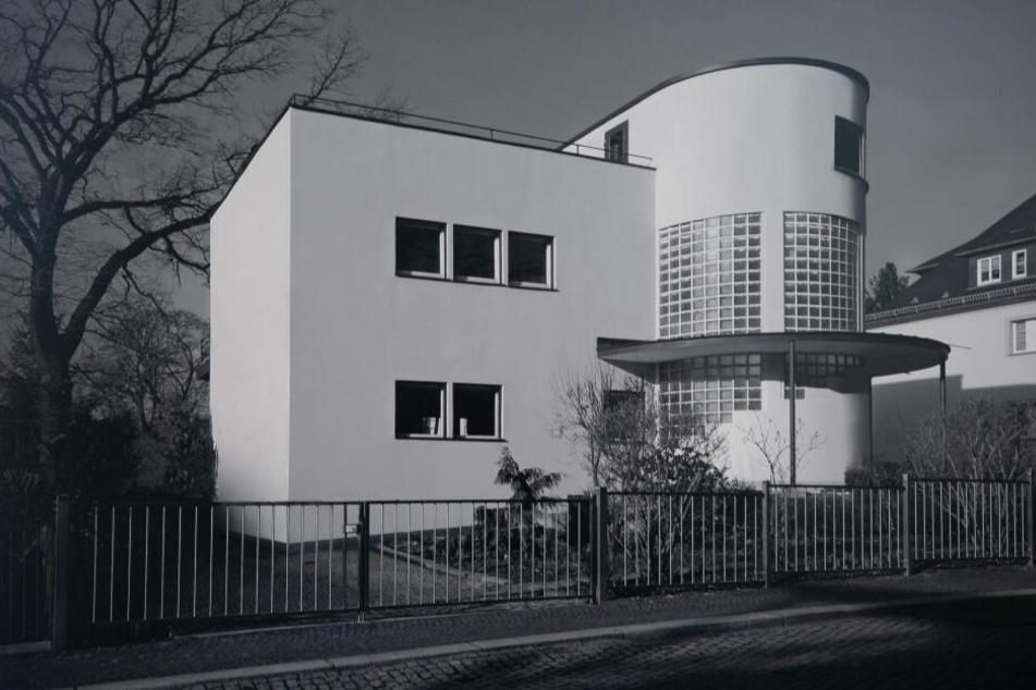 Die Villa Feistel auf dem Schlossberg ist Teil des Fotoprojektes.