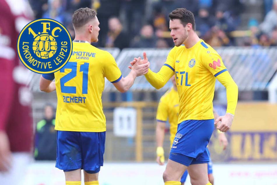 Revanche für Lok Leipzig! 3:1-Sieg gegen BFC Dynamo