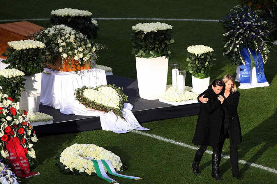 Robert Enke nahm sich wegen Depressionen am 10. November 2009 das Leben.