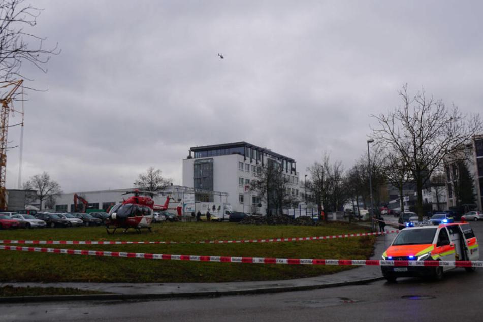 Großeinsatz der Polizei in Waiblingen: Wurde ein Mensch durch Schuss schwer verletzt?