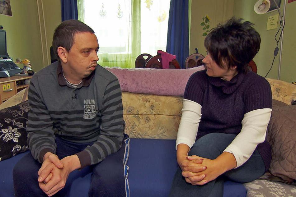 """Wurden keine Freunde: """"Halt! Stop!""""-Andreas und Tauschmutter Andrea."""
