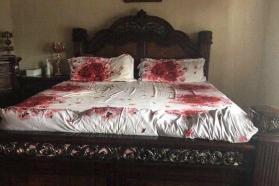 Was ist in diesem Schlafzimmer passiert?