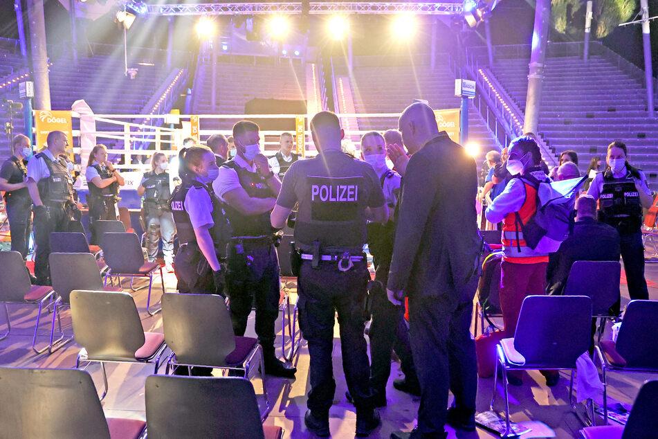 Prügelei am Boxring: Ausschreitungen überschatten den Kabayel-Sieg in Magdeburg.