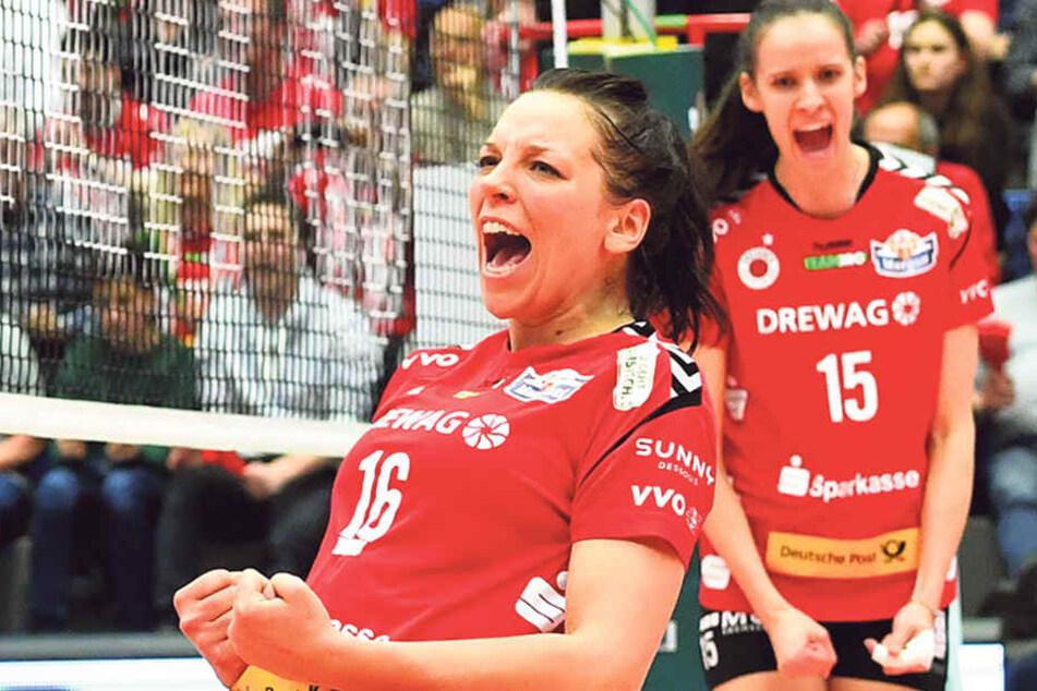 Vorm Start gab's viel Lob für Katharina Schwabe. Sie sei so stark wie lange nicht, meinte der Coach.