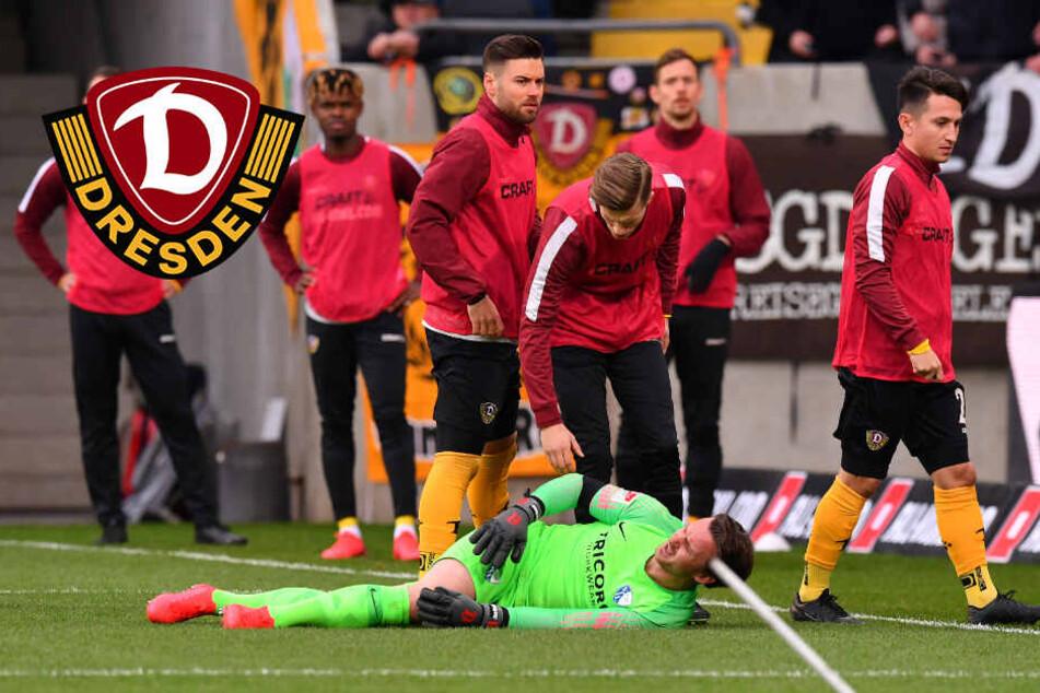 """Stimmung aufgeheizt"": Dynamo-Kapitän Ballas kritisiert VfL-Keeper Riemann"