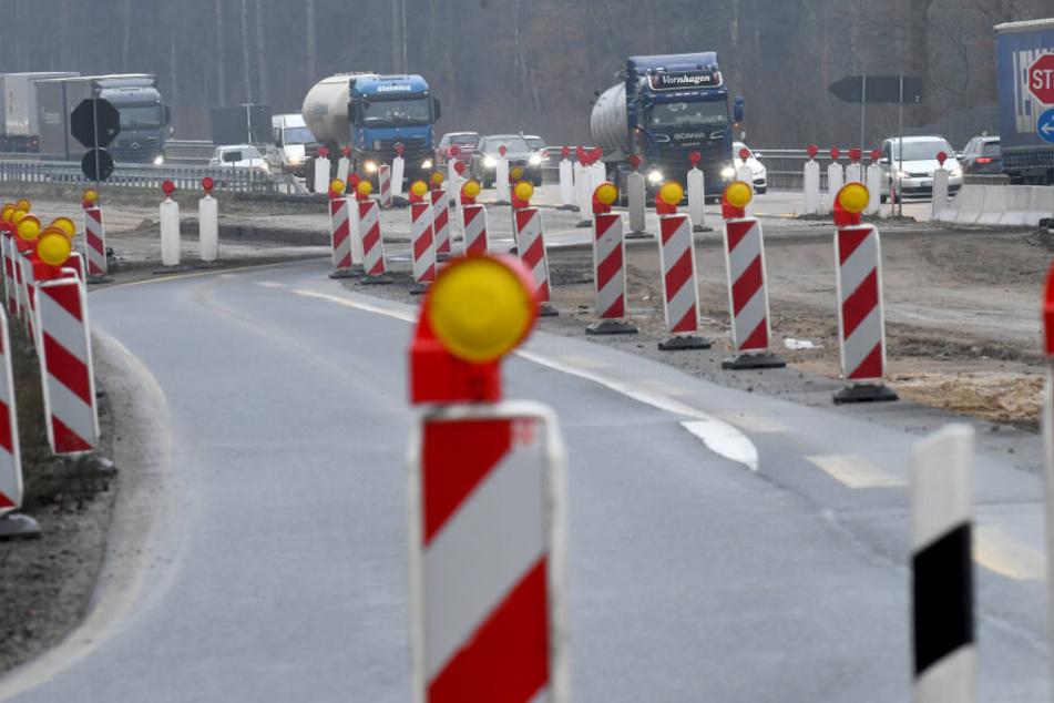 Auf der A1 wird noch in diesem Monat eine Baustelle errichtet.