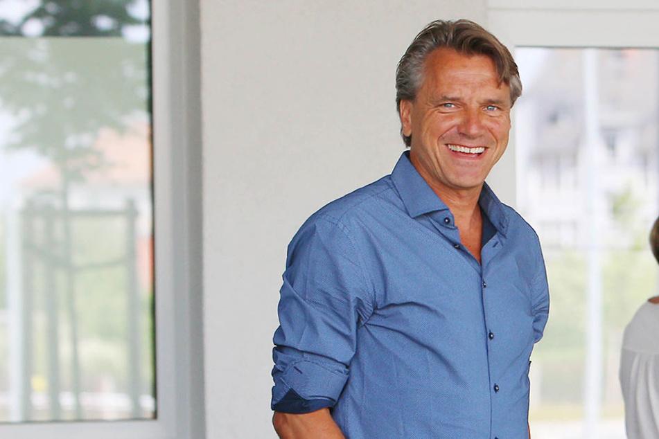 Horst Steffen hat als neuer CFC-Trainer große Aufgaben vor sich.