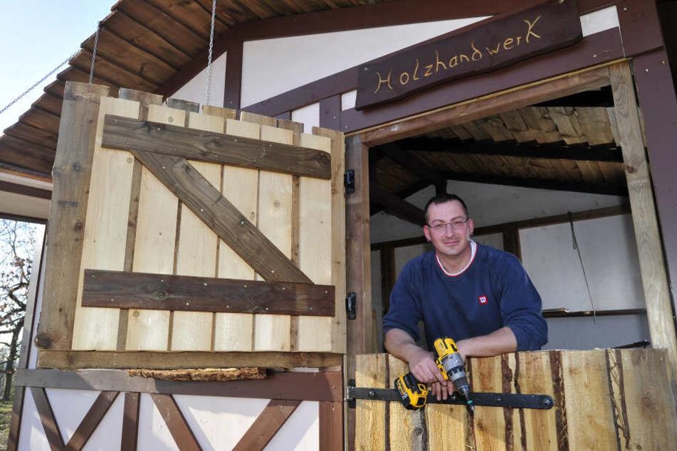 An der Burg Scharfenstein entsteht ein neues Dorf