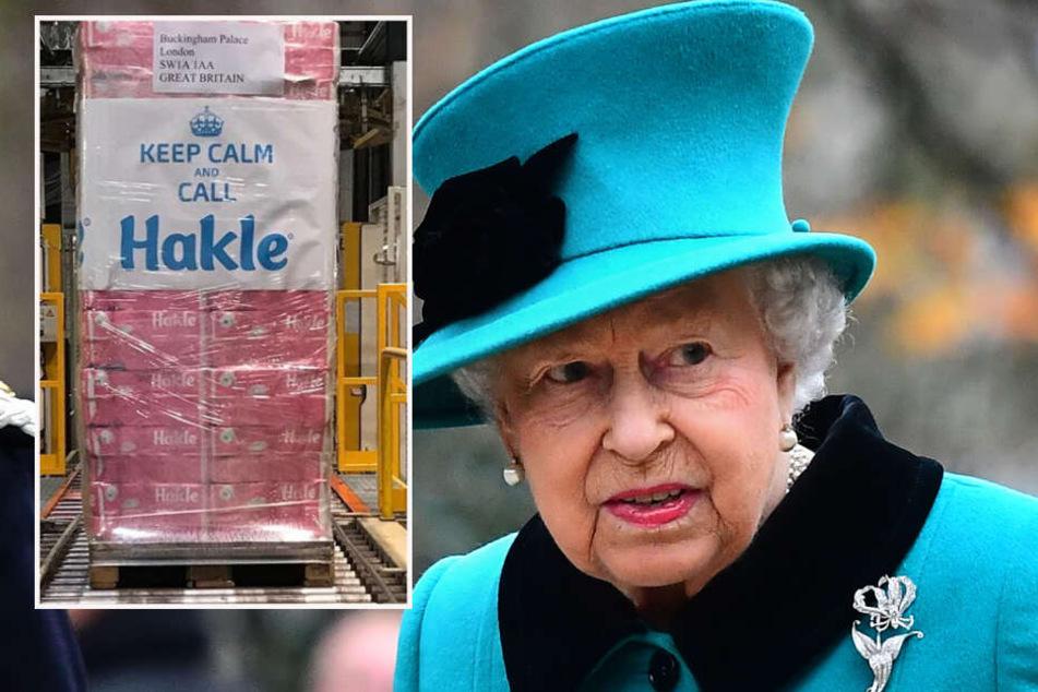 Die Queen hätte sich vielleicht über das Klopapier des Düsseldorfer Herstellers gefreut.