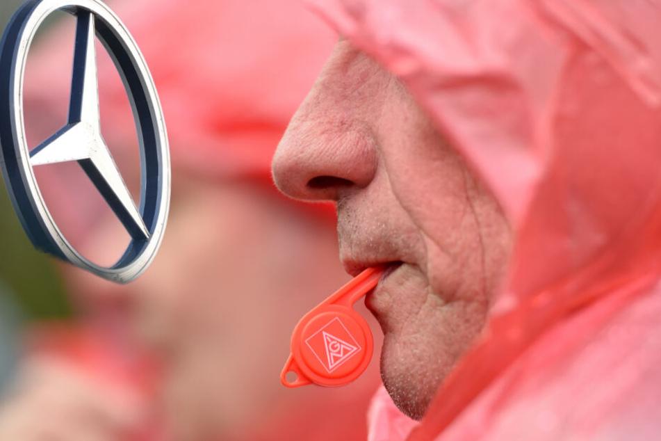 Streik bei sächsischer Daimler-Tochter