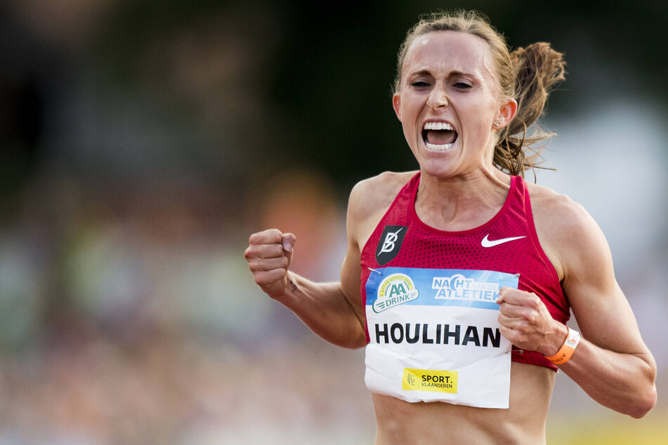 US record-holding runner Shelby Houlihan blames positive doping test on burrito