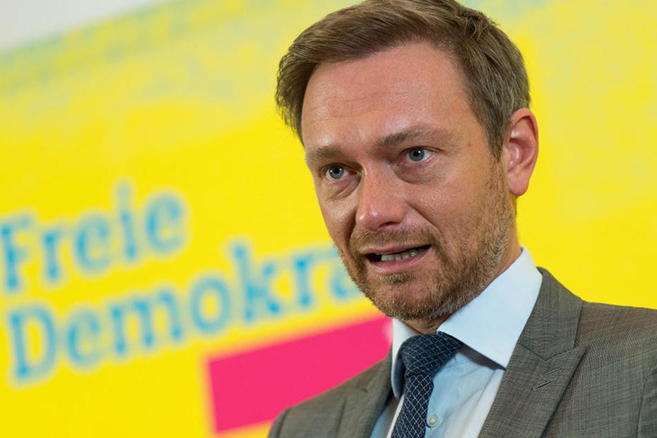 Christian Lindner (38, FDP) möchte in Herford über Start-ups und mehr sprechen.