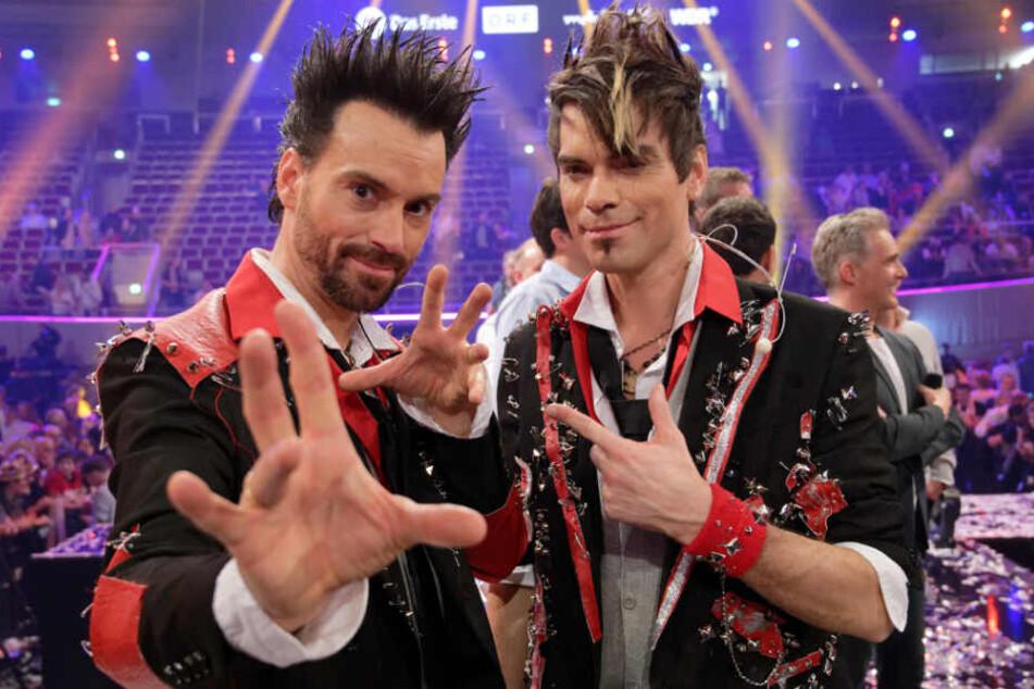 Die beiden Entertainer sind das erfolgreichste Zauberer-Duo des Landes.