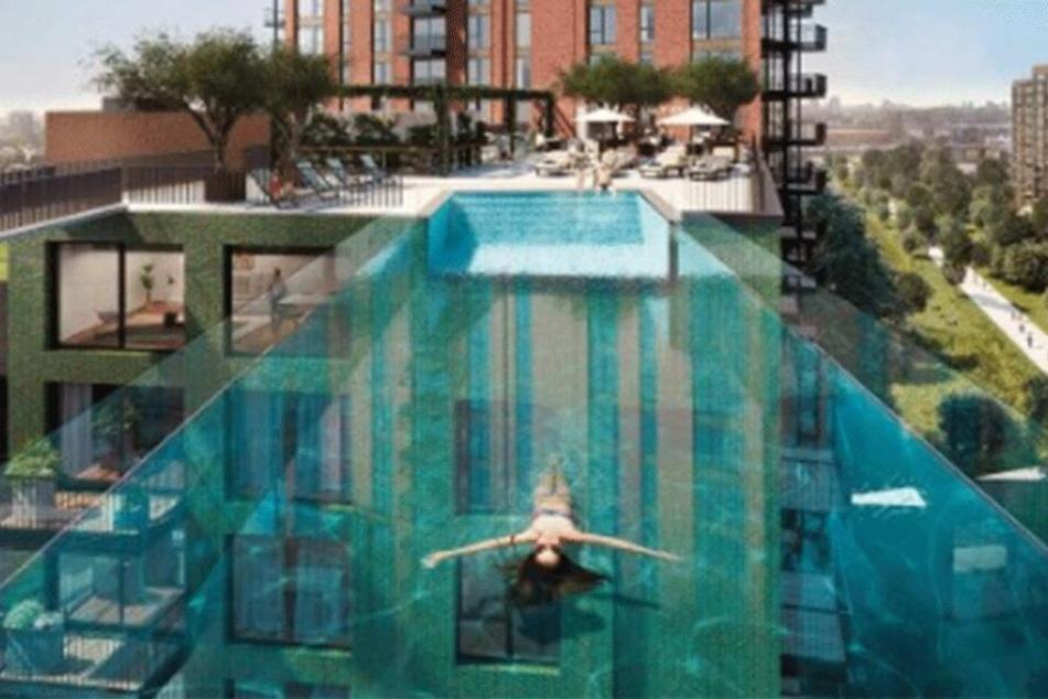 """Die Preise für die Wohnungen von """"Embassy Gardens"""" fangen bei 600.000 Pfund an."""