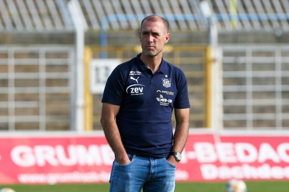 FSV-Coach Joe Enochs.