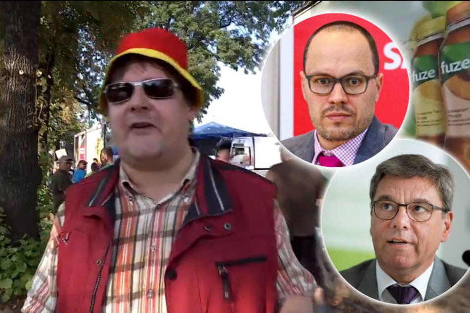 Posse um TV-Team bei PEGIDA: Jetzt gibt's Stunk in der Koalition