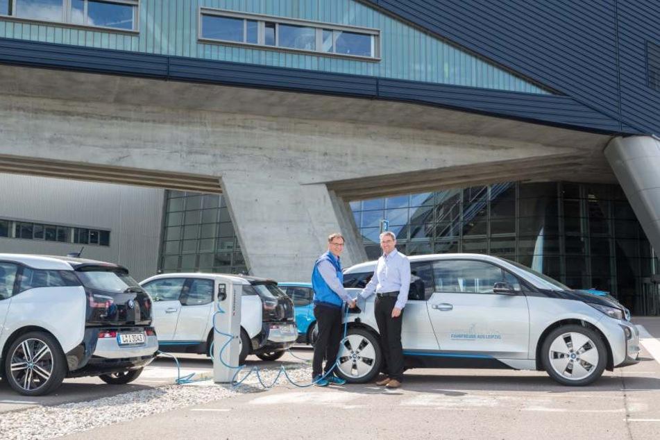 An der HTW Dresden wird jetzt mit einem BMW i3 geforscht.