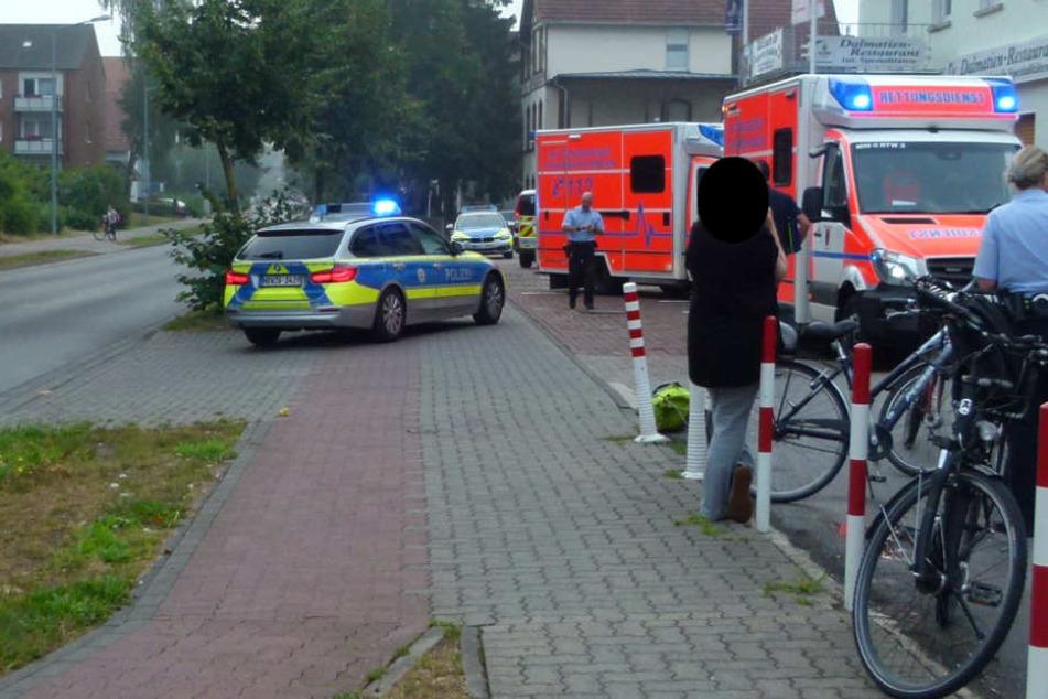 Die Mädchen erlitten nach dem Unfall einen Schock.