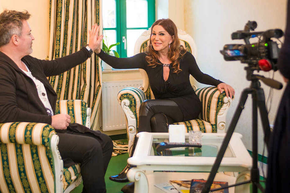 """Zora Schwarz beim Casting für die neue Staffel von """"Mein himmliches Hotel""""."""