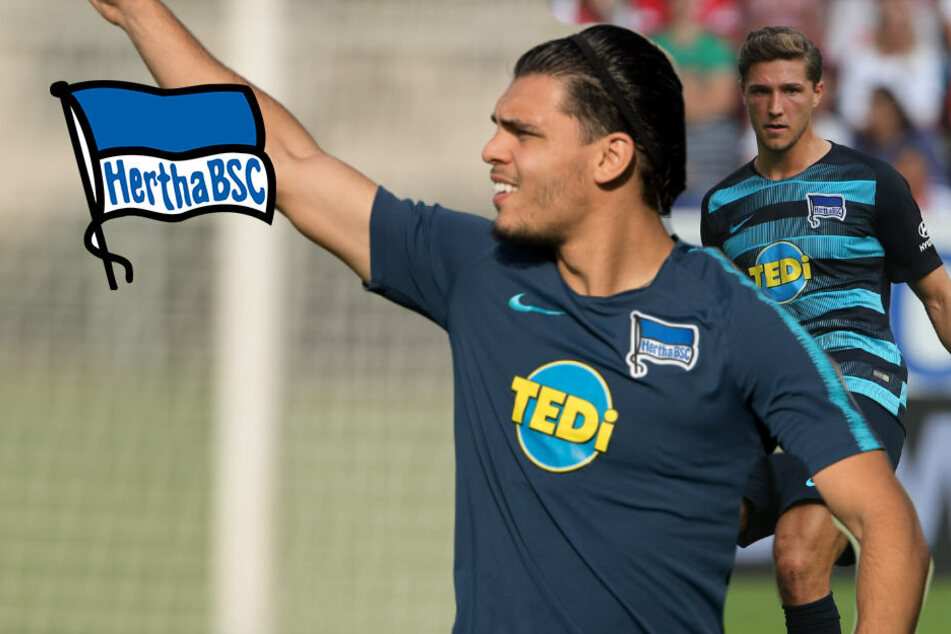 Comeback der Abwehr-Spieler beim Hertha-Trainingsauftakt