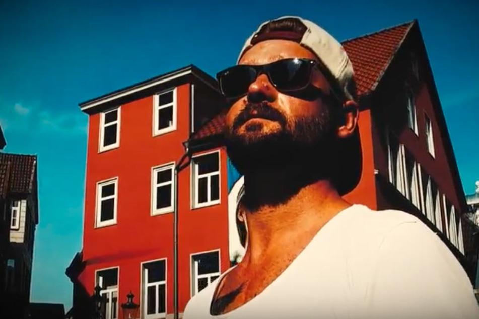 """David Ströbel, alias """"Trauma"""", hat einen Song für seine Heimatstadt Minden aufgenommen."""