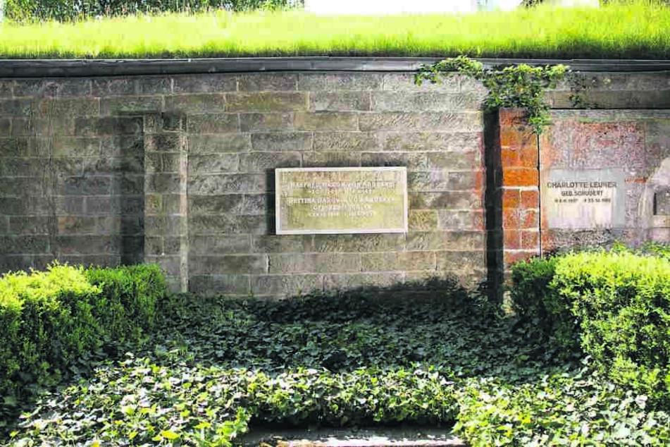 Das Grab des Forschers befindet sich auf dem Waldfriedhof Weißer Hirsch.