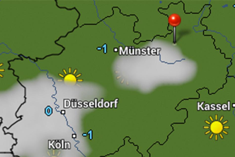 Zwischen -1 und -7 Grad kann es in den nächsten Tagen kalt werden.